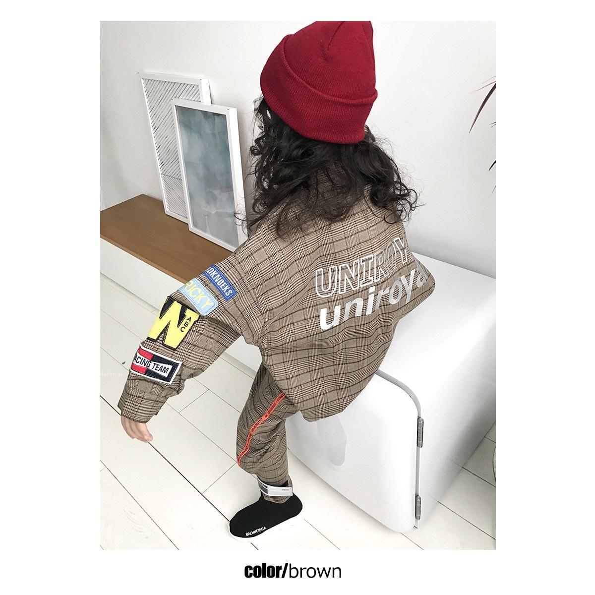 カラー【ブラウン/茶色】 女の子着用