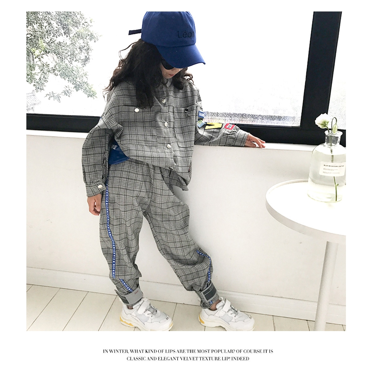 カラー【グレー/灰色】 女の子着用
