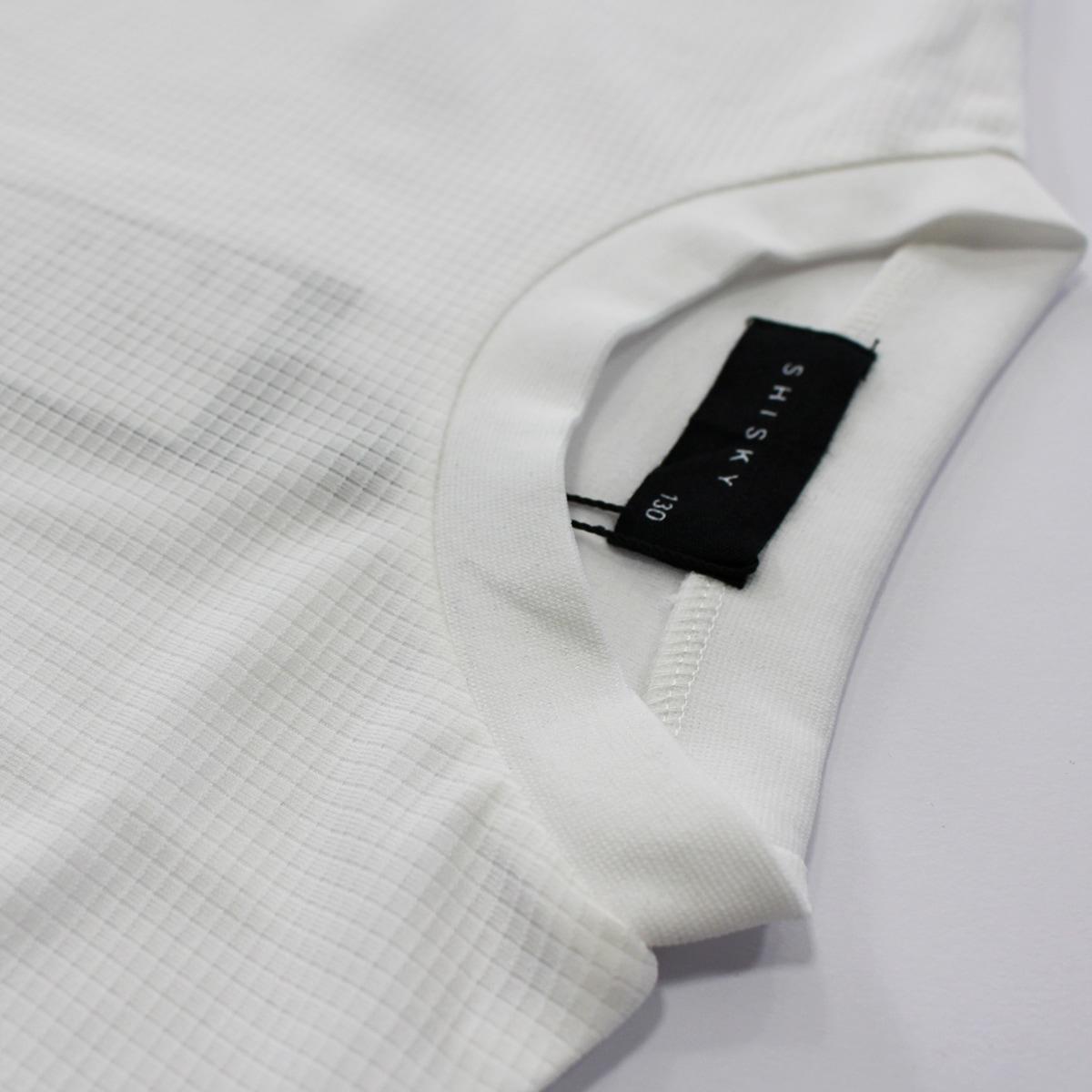 SHISKYワッフル素材半袖Tシャツ×レギンスセットアップ トップス ワッフル生地