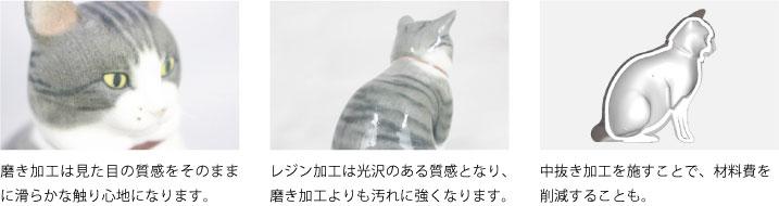 猫フィギュアの解説