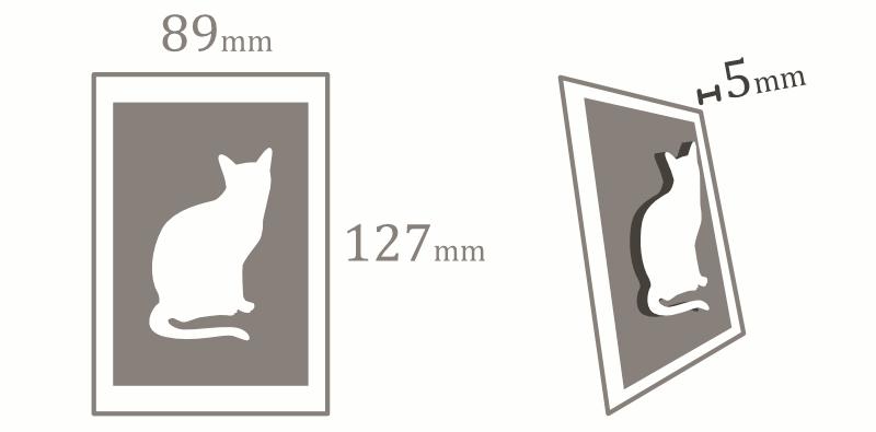 サイズはL版m凹凸は最大5�