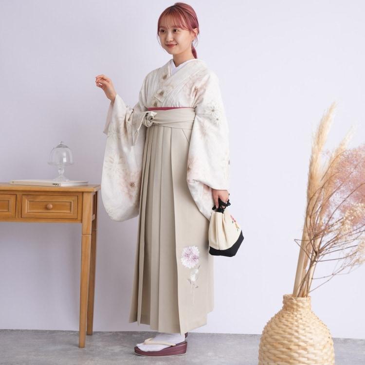 2尺袖着物 袴 16点セット(ポリ)(サブ3画像)