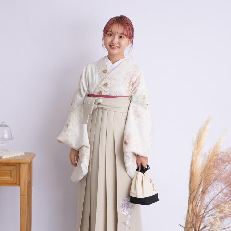 2尺袖着物 袴 16点セット(ポリ)(サブ5画像)