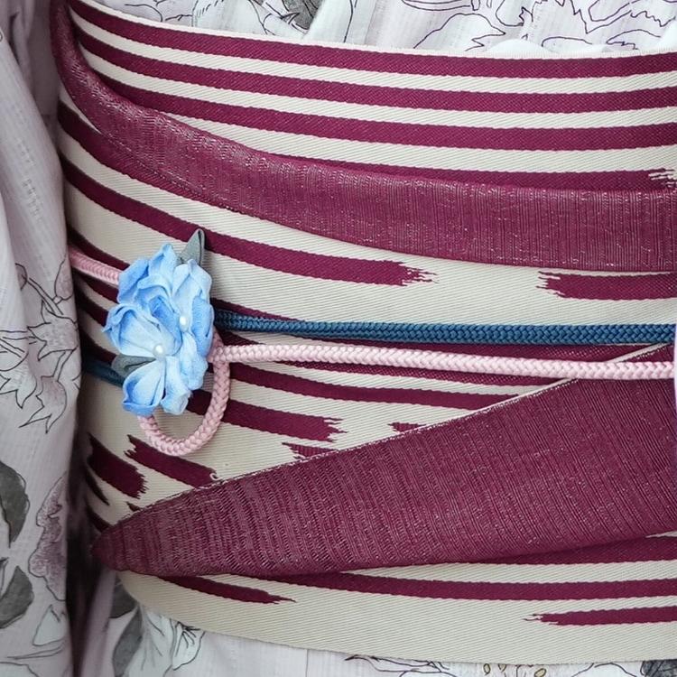 浴衣3点セット(浴衣/帯/下駄)(サブ8画像)