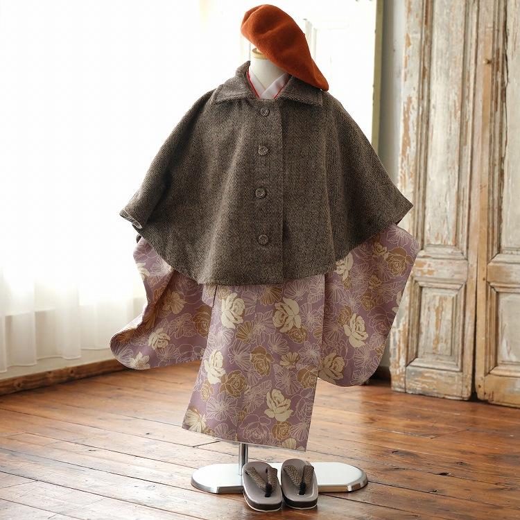 着物 ポンチョセット メイン画像