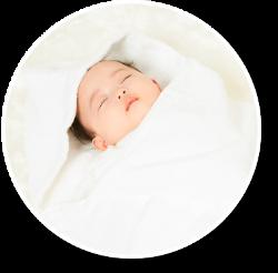 雪印ビーンスタークの想い 赤ちゃん