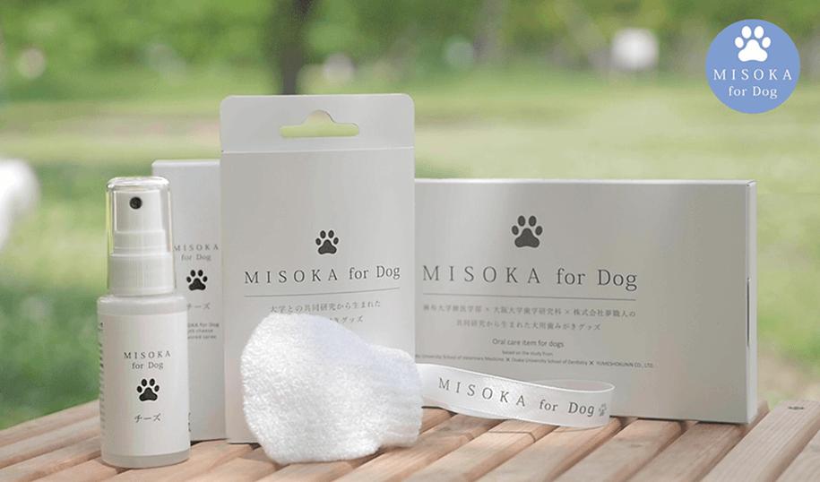 愛犬の口臭や口内の細菌に MISOKA for Dog全ラインナップ