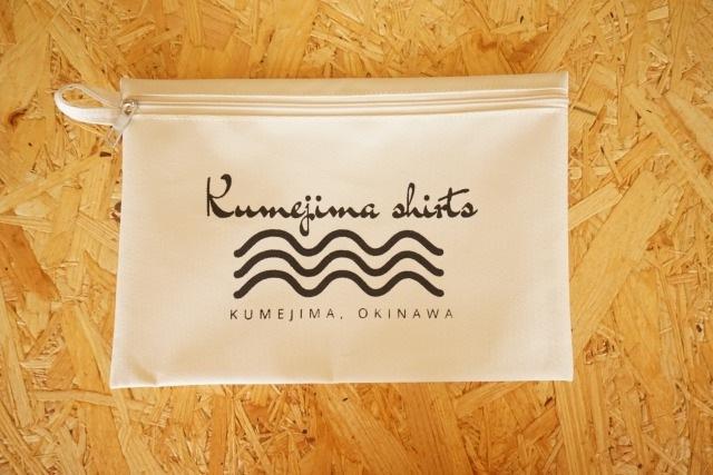 『kumejima shirts オリジナルポーチ』 デザインW-16