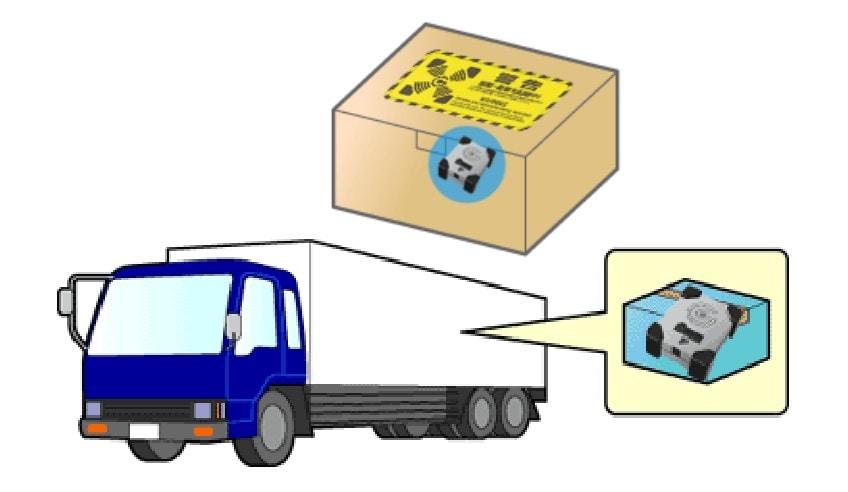 輸送物の品質保証確認記録