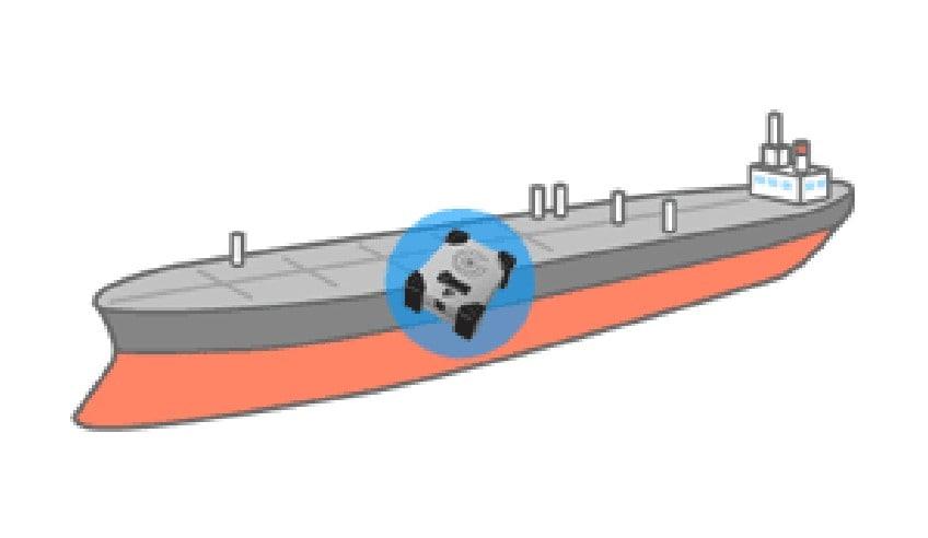 船舶の振動記録