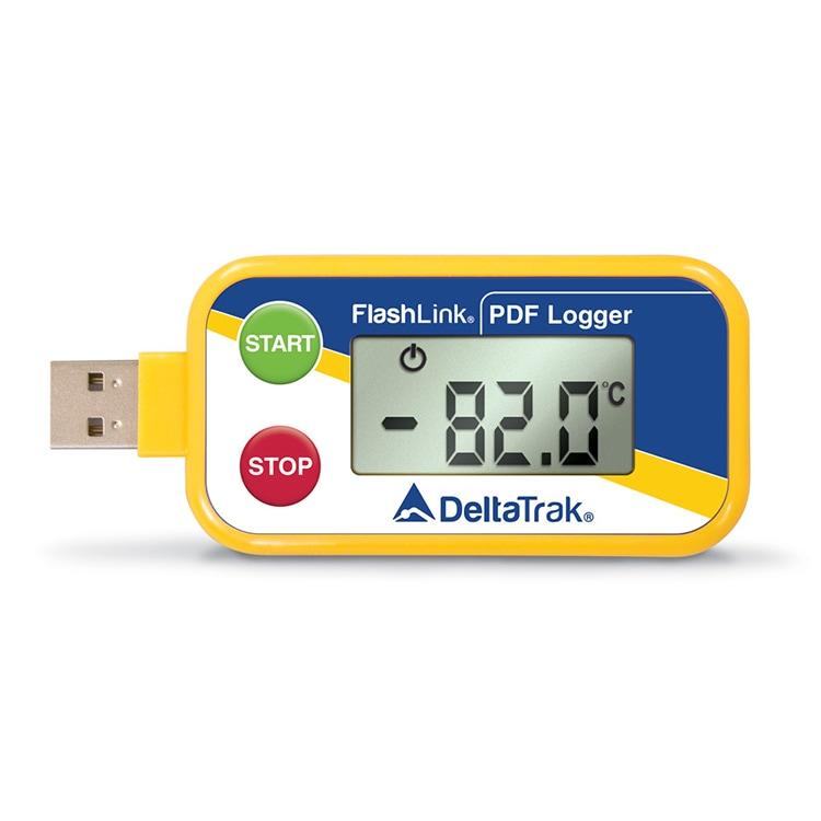 フラッシュリンク(ドライアイス対応・温度データロガー)
