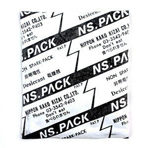 シリカゲル(静電気対策包装・電子部品用)乾燥剤