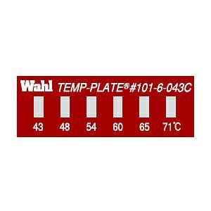 テンプ・プレート 101-6シリーズ(小型・6点式)示温材
