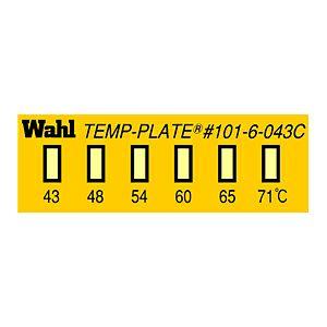 テンプ・プレート 真空用 101-6Vシリーズ(6点式・小型)示温材