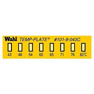 テンプ・プレート 真空用 101-8Vシリーズ(8点式・小型)示温材