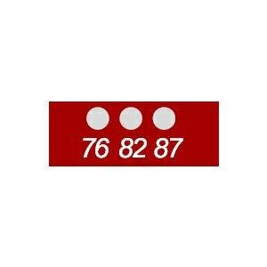 テンプ・プレート 430シリーズ (ミニ・3点式)示温材