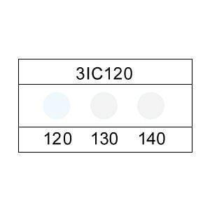 サーモカラーセンサー 3ICシリーズ(3点式)示温材