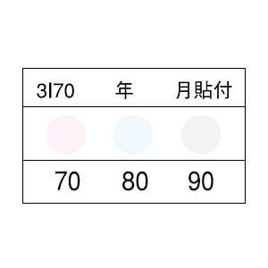 サーモカラーセンサー 3Iシリーズ(3点式)示温材