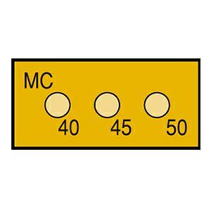 サーモカラーセンサー 3MCシリーズ(半導体用・ 3点式)示温材