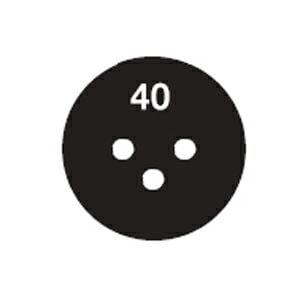 サーモラベル スーパーミニ 3R(丸型・3点式・小さな部品)示温材
