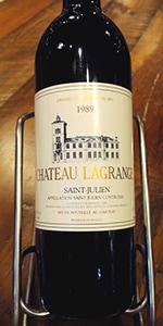 1989年 シャトー・ラグランジュ