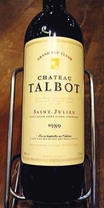1989年 シャトー・タルボー
