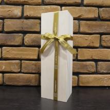 ワイン1本箱(木箱+オリジナルリボン)