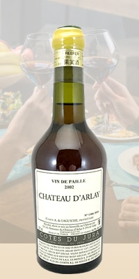 コート デュ ジュラ ヴァン ド パイユ (375ML) ・ シャトー ダルレー / 2002