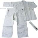 AG60W 晒合気道衣上下袋帯3点(道着・股下・帯)セット